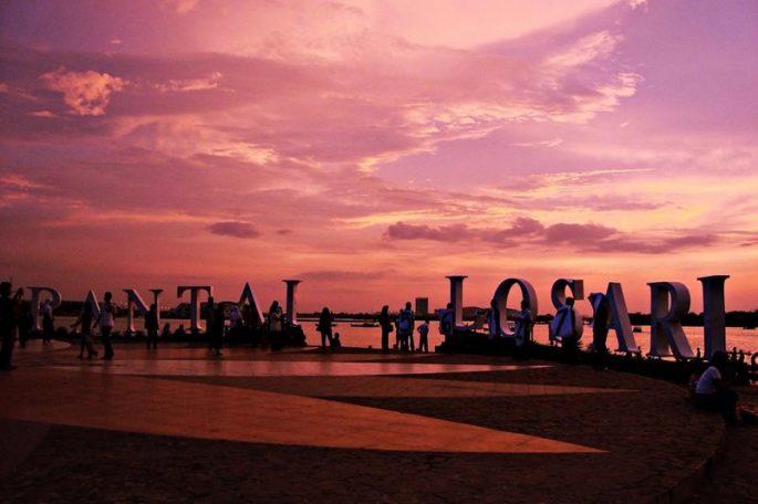 Pantai Losaari makassar
