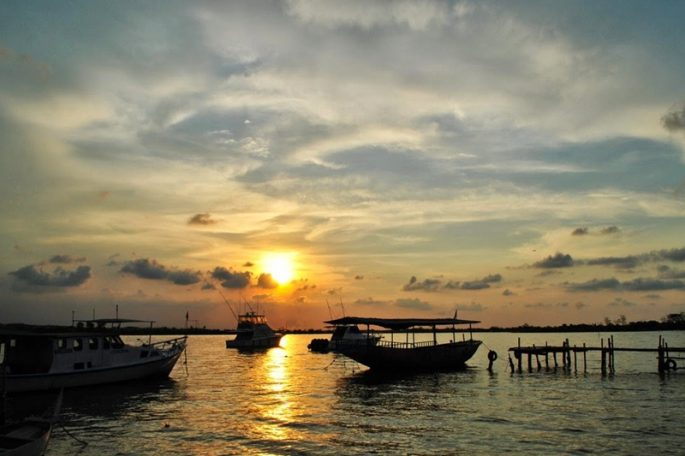 pantai-marina-sunset