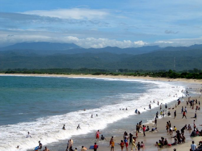 Pantai Santolo Pantai di Garut