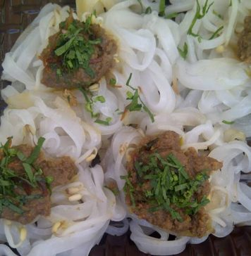 pantiaw makanan khas bangka belitung