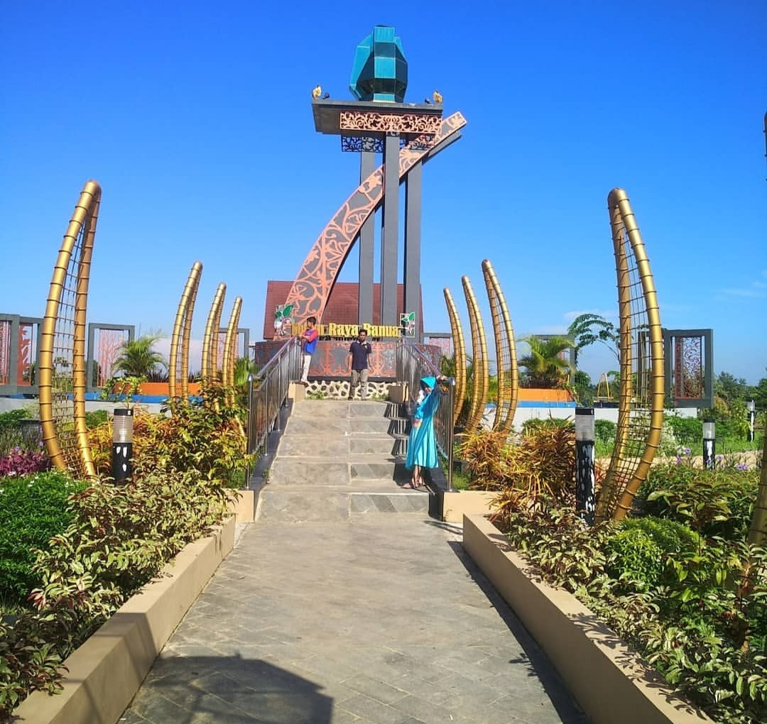 kebun raya banua banjarbaru kalsel