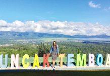 puncak temboan tempat wisata di tomohon
