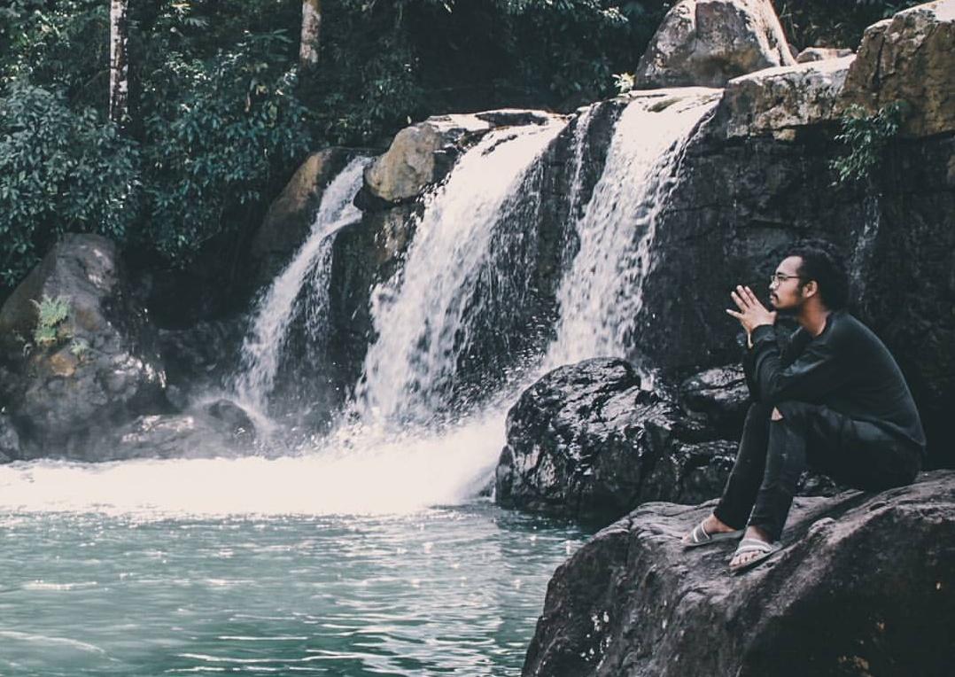 Air terjun komara tempat wisata di takalar