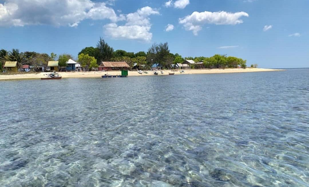 pulau sanrobengi tempat wisata di takalar
