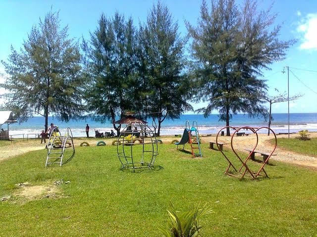 Pantai charlita pantai di nias terbaru