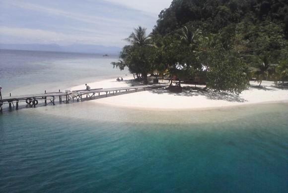 Pulau Pasir Putih Sibolga Pantai di Sibolga