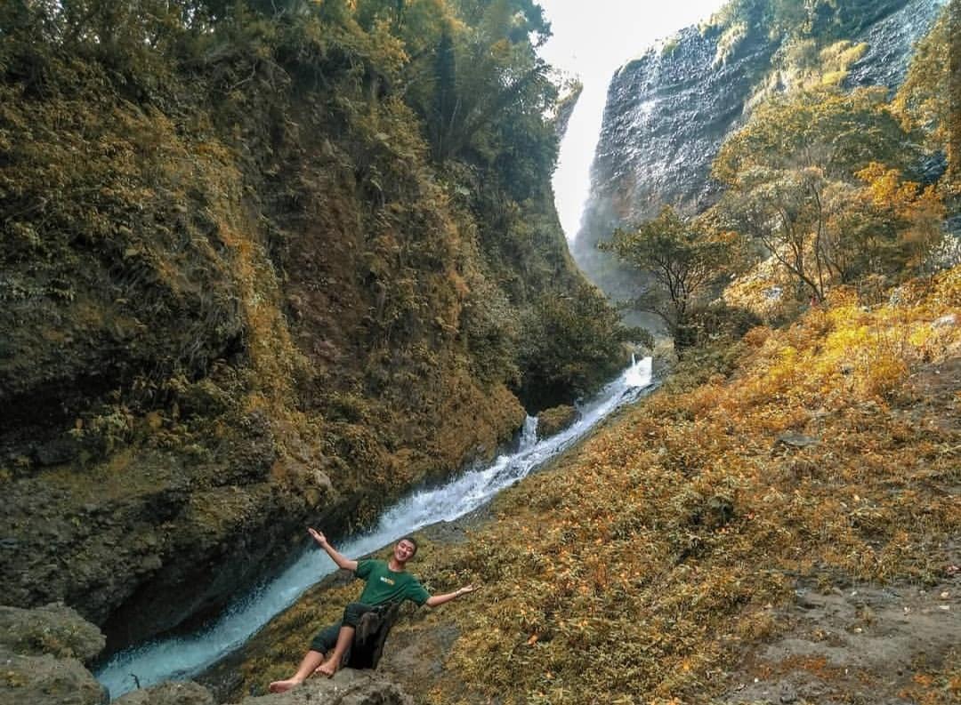 air terjun laposo tempat wisata di soppeng