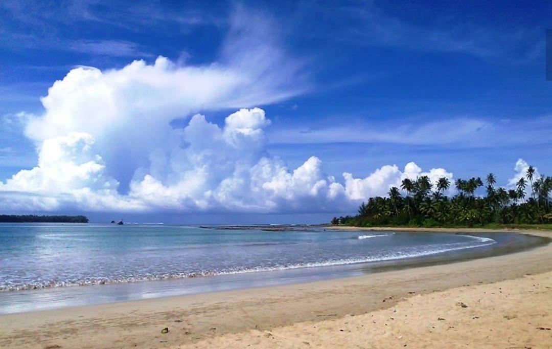 pantai lagundri pantai di nias terbaru