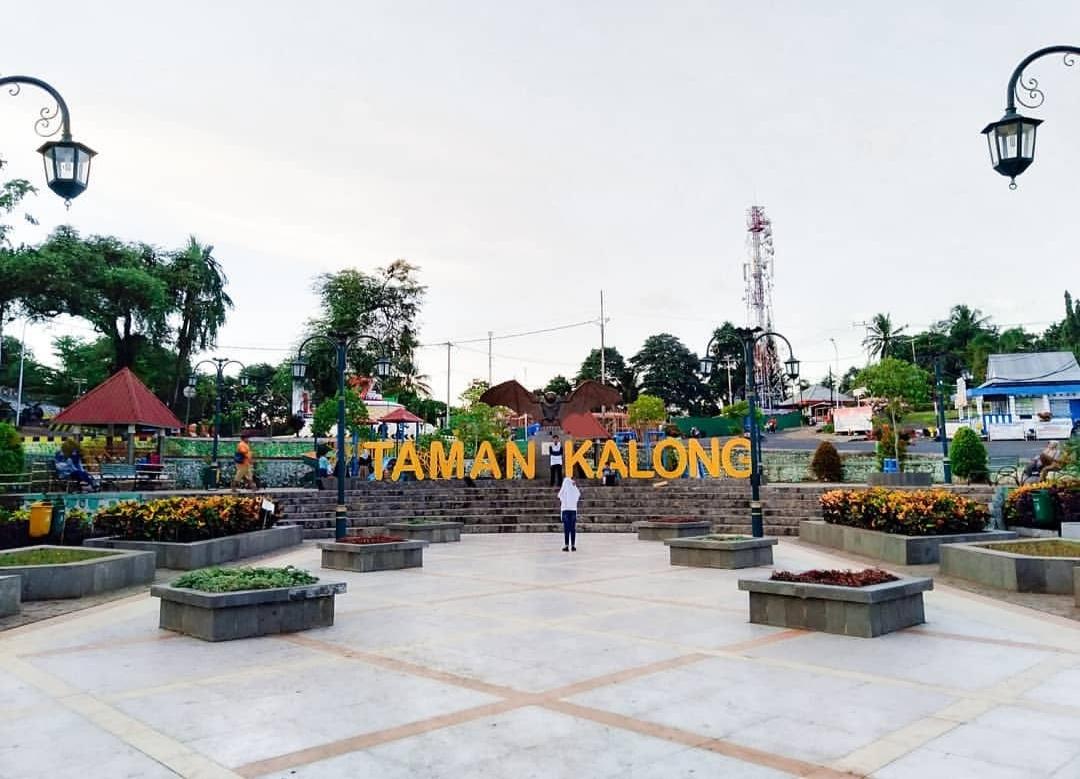 taman kalong tempat wisata di soppeng